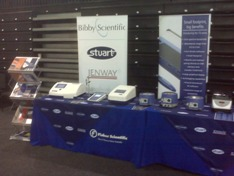 Bibby Scientific stand at Fisher Science World 2011