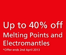 Mantle and Melting point offer