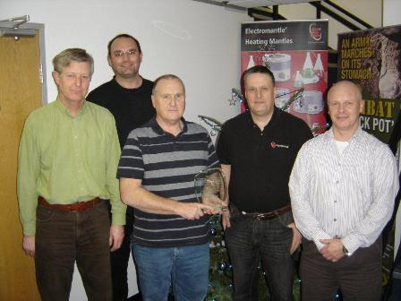 Electrothermal Technical Team. From left: Mike Humphreys, Dan Matthews, Keith Stuart, Phil Godden, Mike Perry